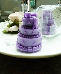 purple wedding favors purple cake candle wedding favors weddingoutlet au