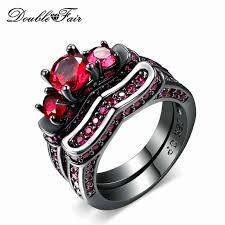 black and pink wedding ring sets 50 black wedding rings with pink diamonds images wedding