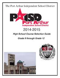 2014 2015 high course selection guide by paisd webmaster