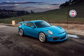 classic porsche 911 porsche 911 gt3 991 on hre classic 300 in mexican blue big euro