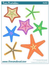 starfish template sea star templates for preschool art