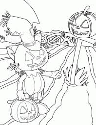 pumpkin halloween colouring pages happy halloween coloring