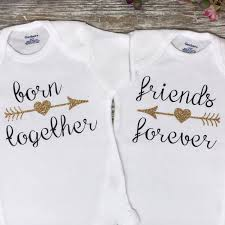thanksgiving onesie born together twin baby onesies twin baby shower gift