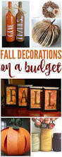 how to make fall decorations on a budget diy ideas and simple