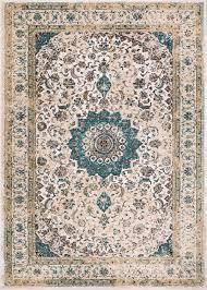 Amazon Oriental Rugs Amazon Com Djemila Medallion Beige Blue Vintage Persian Floral