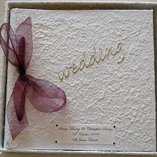 large wedding photo albums simple elegance beautiful wedding album you chose ribbon colour