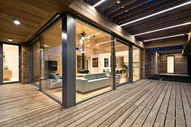Interior Decoration Of Home Cedar House Located In Poznan Poland