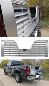 Ford F350 Truck Gas Mileage - husky liners premium 5th wheel louvered tailgate with locking