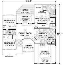 traditional floor plans traditional style house plan 3 beds 2 00 baths 1800 sq ft plan