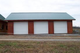 how big is a three car garage 3 car garage with a metal roof