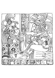 maya art british museum 9 mayans u0026 incas coloring pages for
