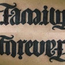 ambigram i did ambigram ambigramtattoo family forever