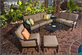 patio conversation sets with swivel chairs patios home