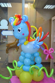 My Little Pony Party Centerpieces by My Little Pony Balloon Sculpture Perfect For Your U0027s Birthday