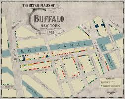 Map Of Buffalo New York by The Naughty Retail History Of Canalside U2013 Buffalo Ny