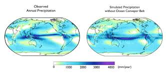 Map Of World Oceans by Global Ocean Currents Explain Why Northern Hemisphere Is The