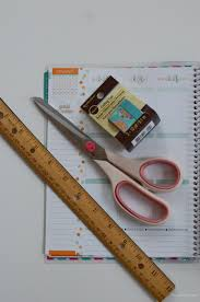 Washi Tape What Is It How To Decorate Your Planner With Washi Tape The Chic Life