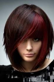 chunking highlights dark hair pictures posts similar to dark brown hair with red chunking color juxtapost