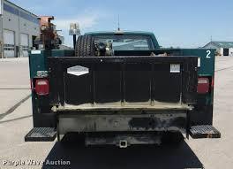 1988 gmc sierra 3500 sl utility bed pickup truck item k595