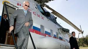 inside putin u0027s presidential helicopter fleet
