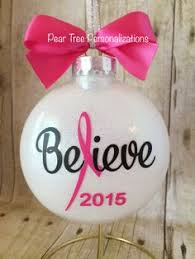 breast cancer ornaments https www