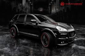 Black Porsche Cayenne - official porsche cayenne by carlex design gtspirit