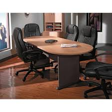 Office Furniture Table Meeting Amazon Com Bush Furniture 42 Inch Round Conference Table Kitchen