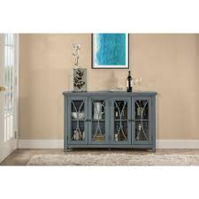 largo antique double door cabinet blue office storage cabinets home office furniture the home depot
