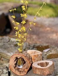 wood log vases best 25 rustic vases ideas on rustic centre pieces