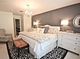 awesome small space bedroom white floral fabric blanket black