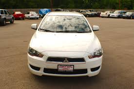 mitsubishi white 2011 mitsubishi lancer white spider drive sedan sale