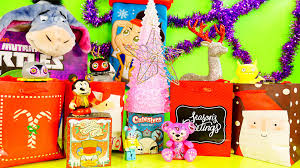 tree ornaments and vinylmation blind boxes dctc