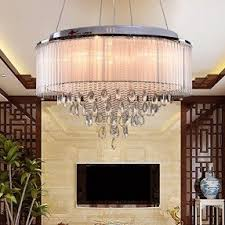 Chandelier With Black Shade And Crystal Drops Crystal Chandelier Shade Foter