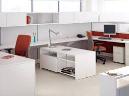 White High Gloss Office Desk Office Introducing Antenna Workspaces White Laminate Office