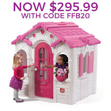 Step 2 Storybook Cottage Used indoor and outdoor kids playhouses step2