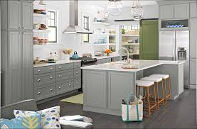 Grey Oak Kitchen Cabinets Kitchen Best Gray Paint For Cabinets Kitchen Colors With Maple