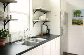 Kitchen Cabinet Shelf Brackets Fabulous Open Kitchen Shelves With Brackets