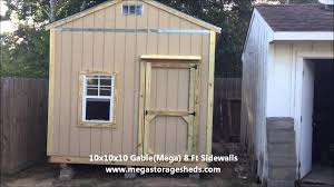 Lifetime Products Gable Storage Shed 6402 by Storage Sheds Spring Tx 10x10x10 Youtube