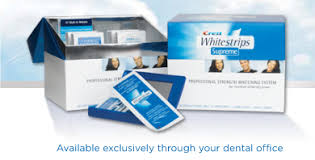 crest supreme whitening strips crest whitestrips supreme professional tooth whitening