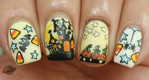 day of the dead inspired nail art tutorial