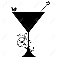 martinis clipart cocktail clipart silhouette pencil and in color cocktail clipart