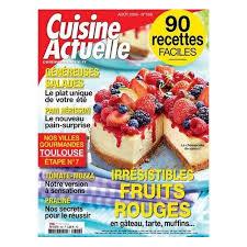 revue cuisine cuisine actuelle