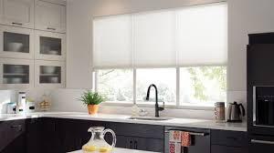 Kitchen Window Curtains Inspiring Kitchen Window Treatments At For Windows