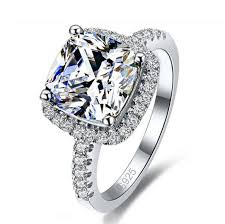 sterling engagement rings images Luxurious 925 sterling silver engagement ring miss karat jewelry jpg