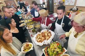 irwindale center hosts homeless youth for thanksgiving dinner