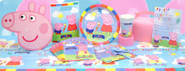 peppa pig party peppa pig party supplies peppa pig birthday woodies party