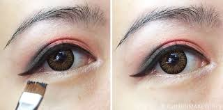 liquid eyeliner tutorial asian step by step eye makeup tutorial because i can t show my face yet