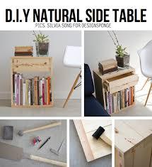 Diy Wooden Bedside Table by 10 Stylish Diy Side Table Ideas U0026 Tutorials