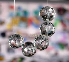 Bobeche Chandelier Parts Crystal Beaded Curtain Crystal Disco Beads Crystal Chandelier