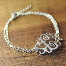 monogram bracelets best 25 monogram bracelet ideas on embroidery
